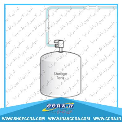 قطع و وصل کردن جریان آب ورودی به مخازن دستگاه تصفیه آب خانگی واترتک