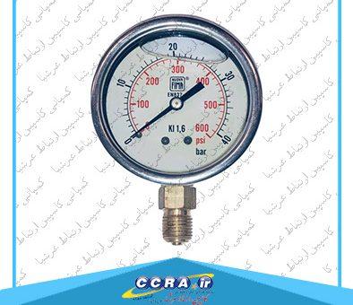 عملکرد گیج فشار در دستگاه های تصفیه آب خانگی واتر تک به چه صورت است؟