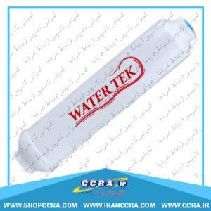 نحوه ی تعویض فیلتر پست کربن واتر تک Water Tek