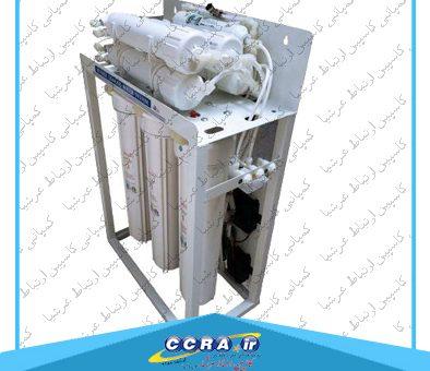 دستگاه تصفیه آب نیمه صنعتی ۴۰۰ گالن واتر تک watertek